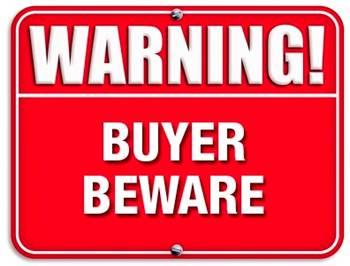warning-buyer beware